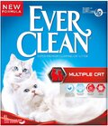 ΑΜΜΟΣ EVER CLEAN MULTIPLE CAT - 6LT + ΔΩΡΟ Aμμολεκάνη γάτας 42cm