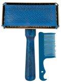 ΒΟΥΡΤΣΑ TRIXIE SOFT BRUSH CHROME - (9 x 13 cm)