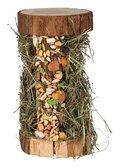 TRIXIE ΞΥΛΙΝΟΣ ΠΥΡΓΟΣ ΜΕ ΣΑΝΟ & ΠΑΣΤΕΛΙ - ΔΙΑΣΤΑΣΕΙΣ: 13×17×13cm, 110gr