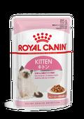 ΦΑΚΕΛΑΚΙ ROYAL CANIN F.WET KITTEN INST.GRAVY Για γατάκια σε ψιλοκομμένες φέτες σε σάλτσα - Πακέτο 12 τεμ. x 85gr