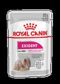 ΦΑΚΕΛΑΚΙ ROYAL CANIN EXIGENT WET Για ενήλικες σκύλους  με ιδιότροπη όρεξη - Πακέτο 12 τεμαχίων x 85GR