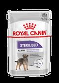 ΦΑΚΕΛΑΚΙ ROYAL CANIN STERILISED Για ενήλικες στειρωμένους σκύλους με τάση αύξησης βάρους - Πακέτο 12 τεμαχίων x 85GR