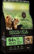 ΟΛΙΣΤΙΚΗ ΞΗΡΑ ΤΡΟΦΗ AMBROSIA GRAIN FREE INDOOR CAT & URINARY CARE - Φρέσκια Γαλοπούλα & Κοτόπουλο 2kg