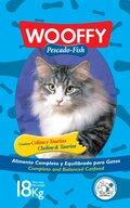 ΞΗΡΑ ΤΡΟΦΗ WOOFFY CAT PESCADO - 18Kg