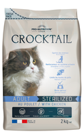 ΞΗΡΑ ΤΡΟΦΗ FLATAZOR CROCKTAIL ADULT STERILIZED CHICKEN - 2kg