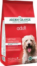 ΞΗΡΑ ΤΡΟΦΗ ARDEN GRANGE DOG ADULT CHICKEN & RICE 12KG