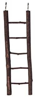 ΞΥΛΙΝΗ ΣΚΑΛΑ TRIXIE - ΜΕ ΠΕΝΤΕ ΣΚΑΛΟΠΑΤΙΑ - ΔΙΑΣΤΑΣΕΙΣ: 26cm