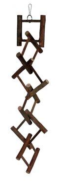 ΞΥΛΙΝΗ ΚΡΕΜΑΣΤΗ ΣΚAΛA TRIXIE ME 12 ΣΚAΛΟΠΑΤΙΑ - ΔΙΑΣΤΑΣΕΙΣ: 58cm